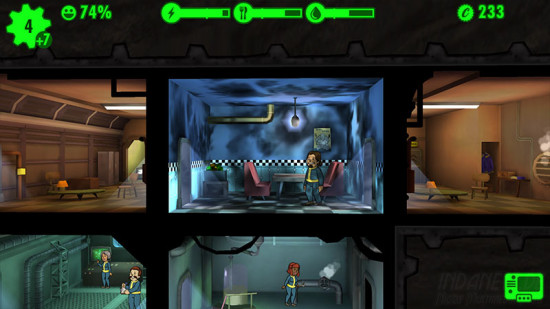 Fallout Shelter Feuer