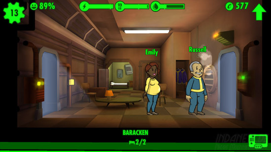 Fallout Shelter Nachwuchs