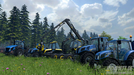 Landwirtschafts-Simulator 2015 Xbox Traktorparade