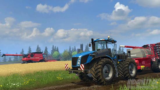Landwirtschafts-Simulator 2015 Xbox Feldarbeit