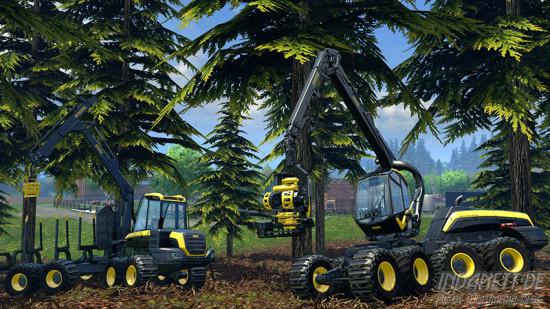 Landwirtschafts-Simulator 2015 Xbox Forstwirtschaft