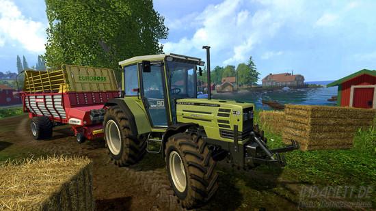 Landwirtschafts-Simulator 2015 Xbox One Traktor mit Anhänger