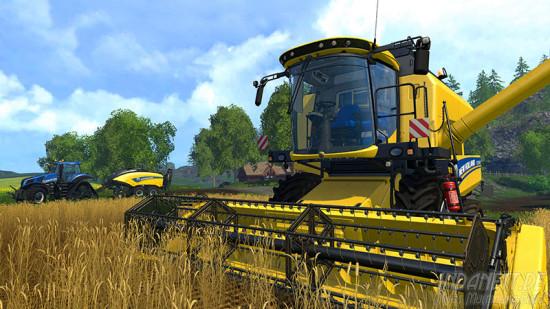 Landwirtschafts-Simulator 2015 Xbox One Mähdrescher