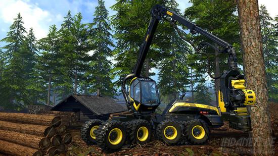 Landwirtschafts-Simulator 2015 Xbox One Baum fällen