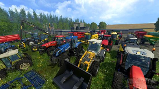 Landwirtschafts-Simulator 2015 Xbox One Fuhrpark