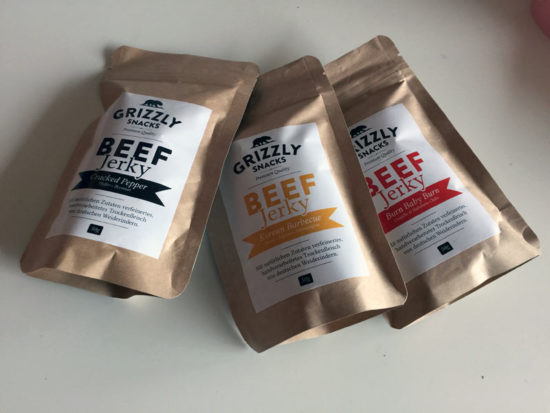 Grizzly Snacks Beef Jerky