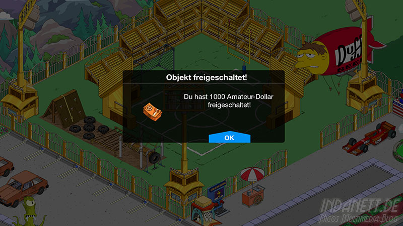 Die Simpsons - Springfield Tipp-Ball Akt 3 - 1000 Amateur-Dollar