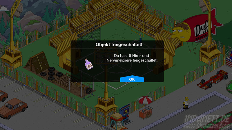 Die Simpsons - Springfield Tipp-Ball Akt 3 - Hirn- und Nervenelixiere