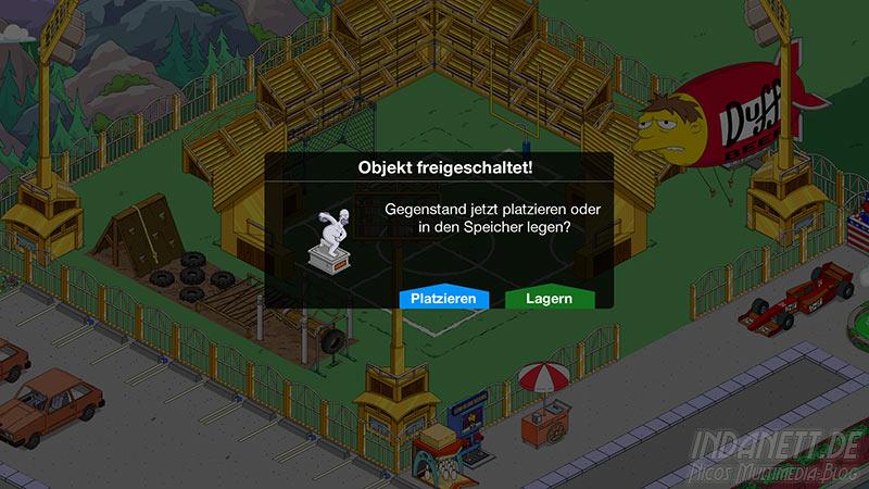 Die Simpsons - Springfield Tipp-Ball Akt 3 - Homerkles-Statue