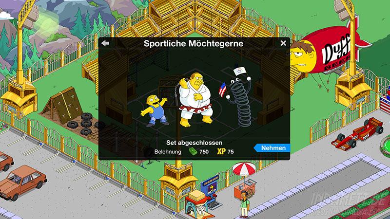 Die Simpsons - Springfield Tipp-Ball Akt 3 - Sportliche Möchtegerne