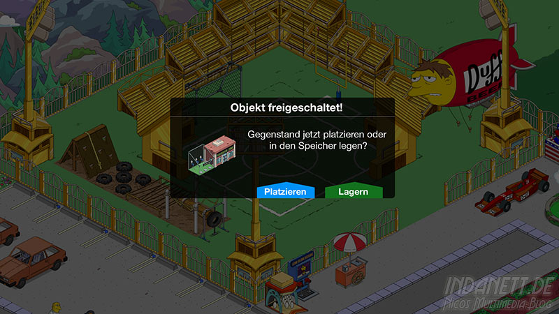 Die Simpsons - Springfield Tipp-Ball Akt 3 - Testoster-Zone