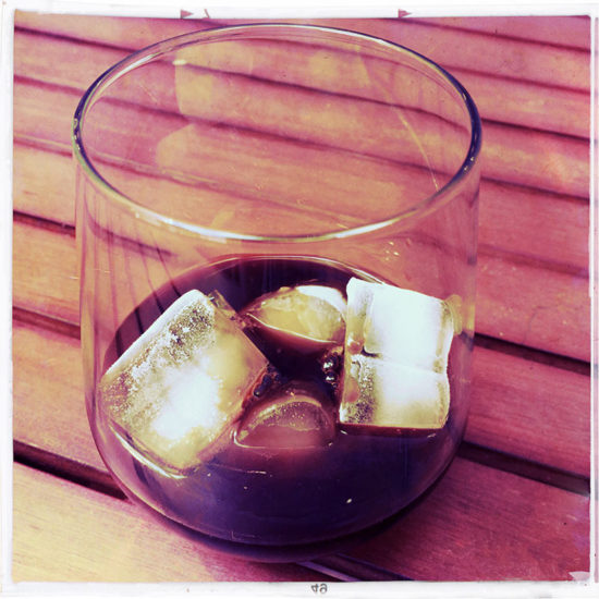 Cold Brew on the rocks