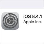 iOS 8.4.1 Update Titel