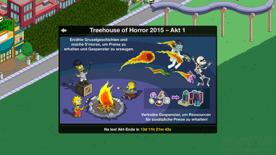 Die Simpsons - Treehouse of Horror 2015 Erklärung