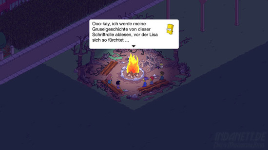 Die Simpsons - Treehouse of Horror 2015 Lagerfeuer