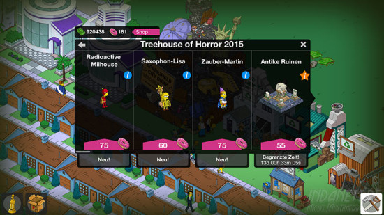 Die Simpsons - Treehouse of Horror 2015 Shop 2