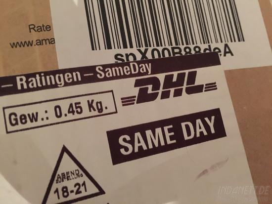 Amazon Same day delivery Lieferung am gleichen Tag