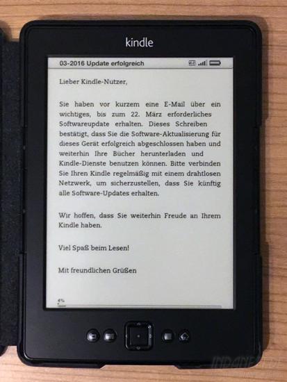 03-2016 Update erfolgreich (Kindle)