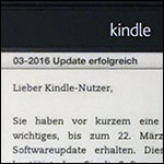 03-2016 Update erfolgreich (Kindle) Titel