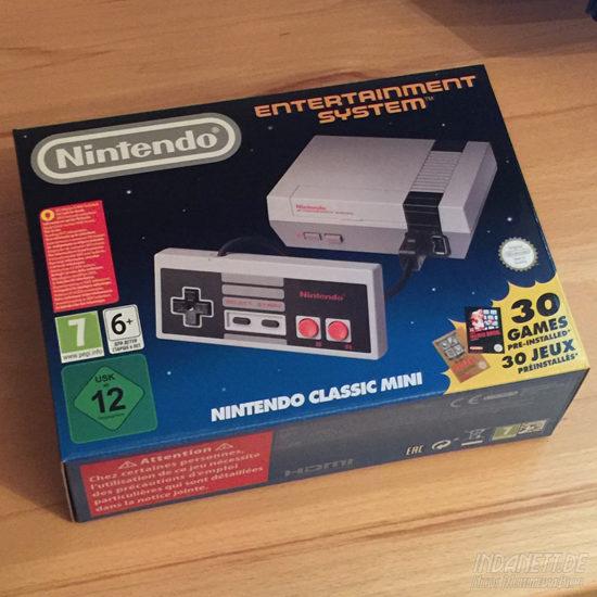 Nintendo Classic Mini Verpackung