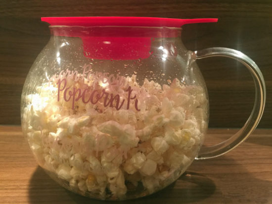 Popcorn-Maker Limito Leonardo Popcorn fertig