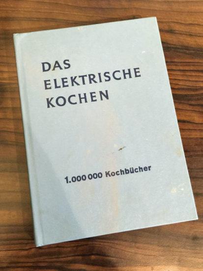 Das elektrische Kochen - Titel