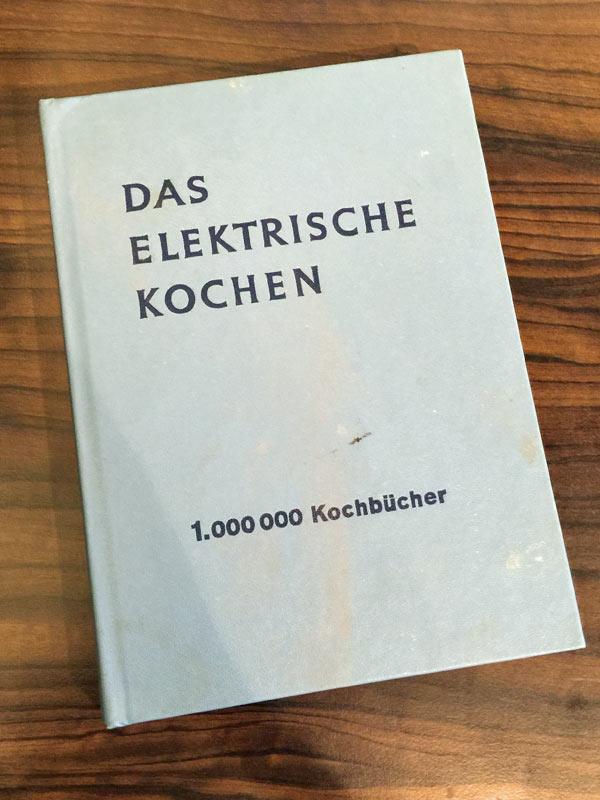 Das elektrische Kochen - noch ein Buch aus Omas Küche › indanett.de
