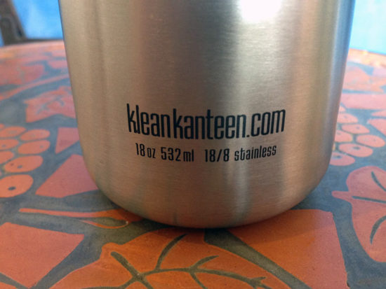 Klean Kanteen 532ml Classic stainless