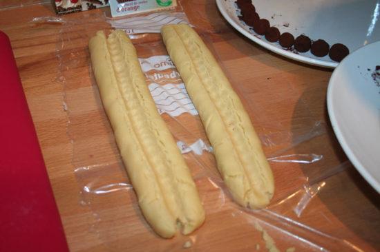 Marzipan-Shortbread Teigmulde