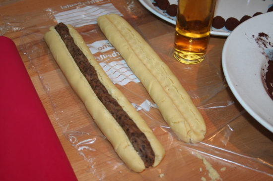 Marzipan-Shortbread Marzipanfüllung