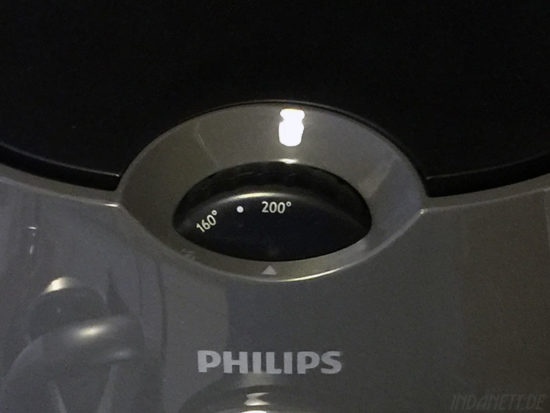 Philips Airfryer Temperatureinstellung