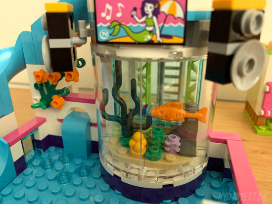 LEGO Friends 41313 Heartlake Freibad Aquarium