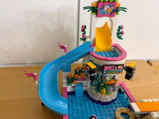 LEGO Friends 41313 Heartlake Freibad Rutsche