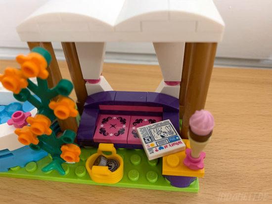 LEGO Friends 41313 Heartlake Freibad Sitzbereich