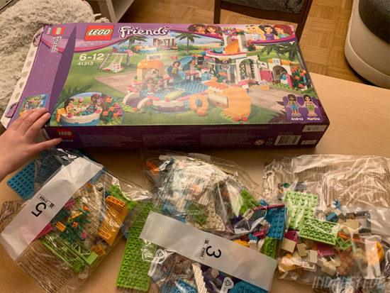 LEGO Friends 41313 Heartlake Freibad Verpackung