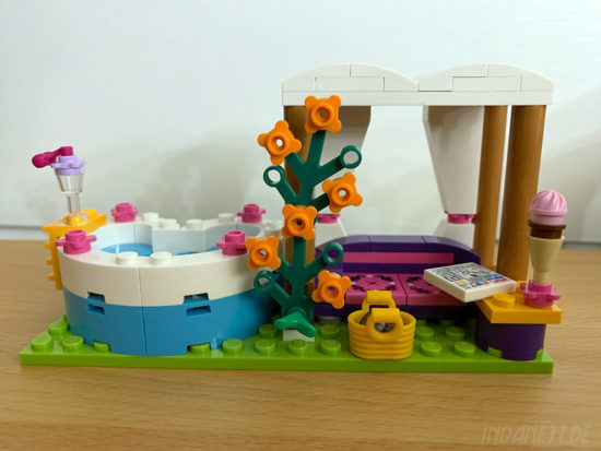 LEGO Friends 41313 Heartlake Freibad Whirlpool