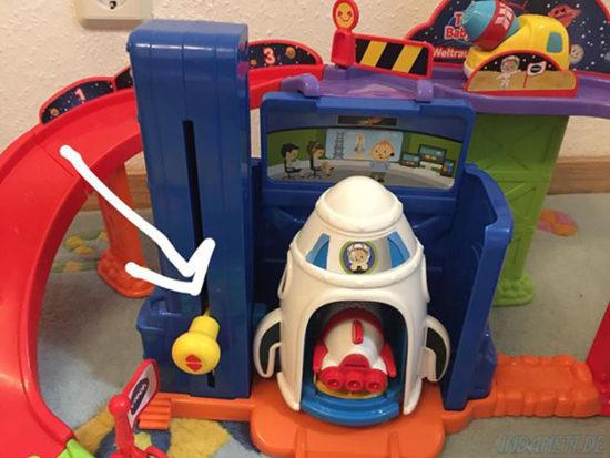 Vtech Babyflitzer-Weltraumstation defektes Teil
