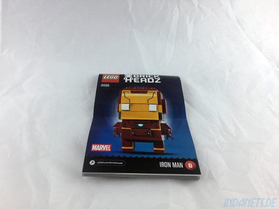 LEGO BrickHeadz Iron Man Anleitung
