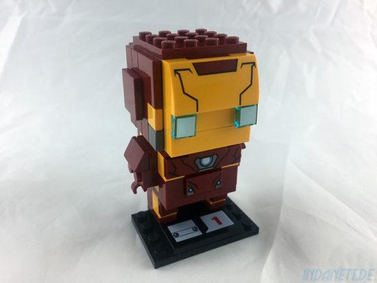 LEGO BrickHeadz Iron Man schräg