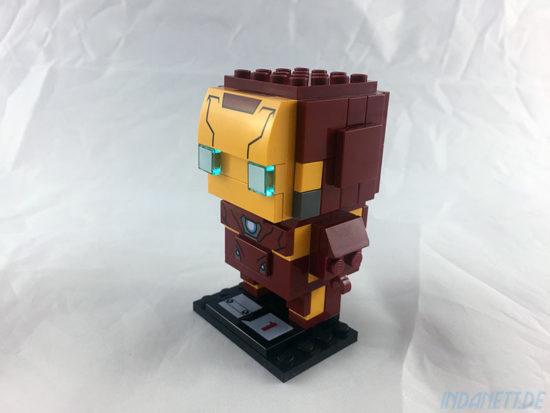 LEGO BrickHeadz Iron Man Verpackung schräg links