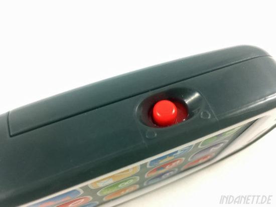 Mattel Fisher-Price BHB90 Lernspaß Smart Phone An/Aus-Schalter