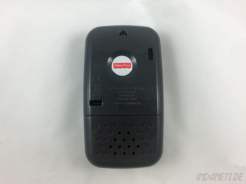 Mattel Fisher-Price BHB90 Lernspaß Smart Phone Rückseite
