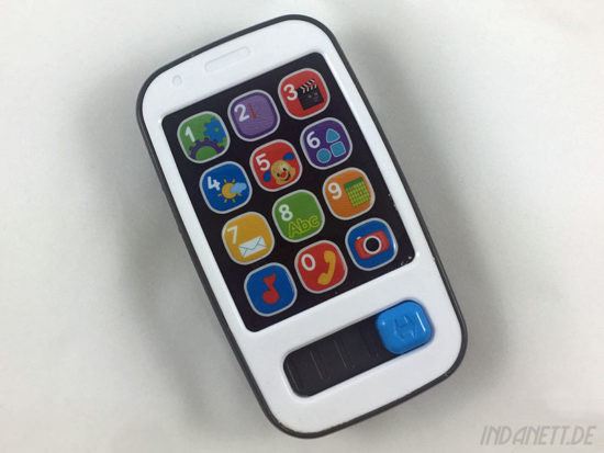 Mattel Fisher-Price BHB90 Lernspaß Smart Phone von oben