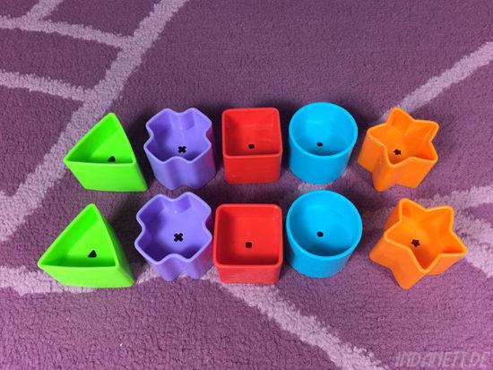 Mattel Fisher-Price K7167 Steckbox/Formensortierspiel Formen