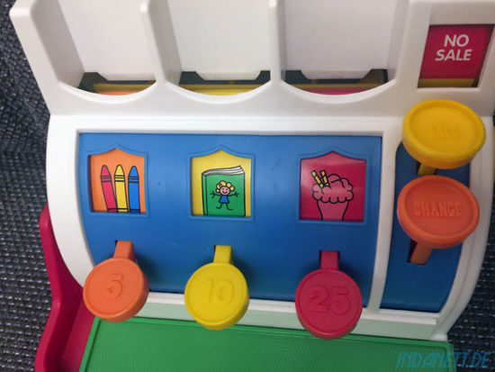 Mattel Fisher-Price Registrierkasse Tasten