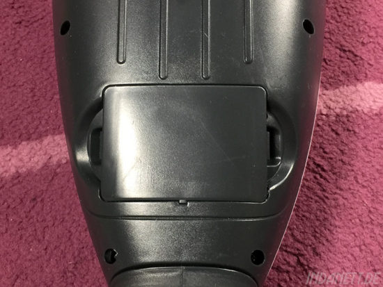 Vorwerk-Spielzeugstaubsauger VK200 Behälter drinnen