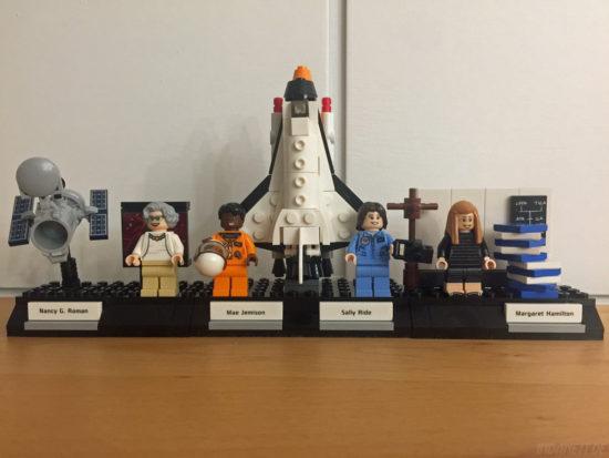 Women of NASA / Die NASA-Frauen - LEGO-Set 21312 - komplett aufgebaut