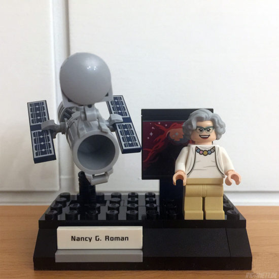 Women of NASA / Die NASA-Frauen - LEGO-Set 21312 - Nancy Grace Roman mit Hubble-Teleskop