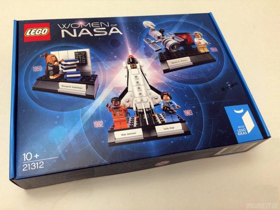 Women of NASA / Die NASA-Frauen - LEGO-Set 21312 - Verpackung
